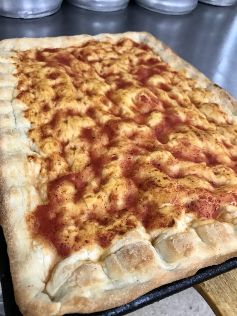 Sicilian Pizza Recipe Authentic Cooked Crust