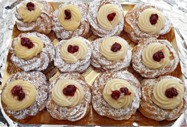 Things to make with pizza dough Zeppole
